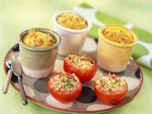 Kalbsragout mit gefüllten Tomaten Rezept