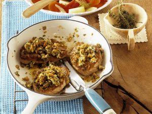 Kalbsschnitzel mit Brotkruste Rezept