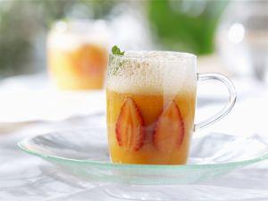 Kalte Erdbeer-Melonen-Suppe Rezept