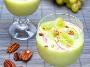 Kalte Gurken-Traubensuppe Rezept