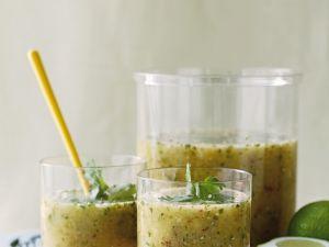 Kalte Gurkensuppe mit Ananas Rezept