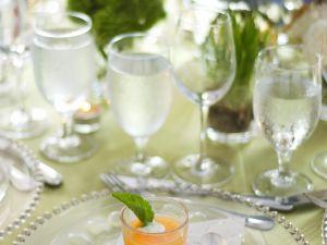 Kalte Möhren-Mango-Suppe Rezept