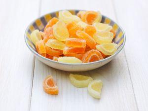 Kandierte Zitronen und Orangen Rezept