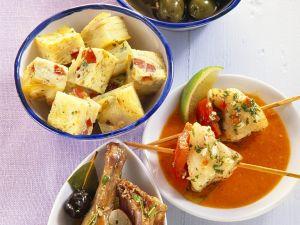Kaninchen mit Oliven Rezept