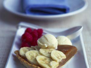 Karamell-Tarte mit Banane Rezept