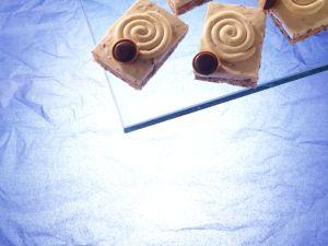 Karamell-Toffee-Creme-Schnitten Rezept