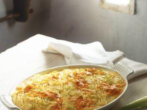 Karotten-Kartoffelpüree-Auflauf Rezept