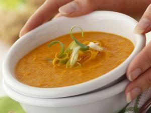 Karotten-Lauch-Suppe Rezept
