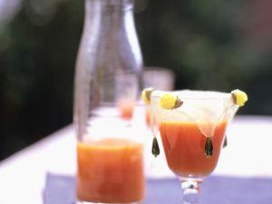 Karottensaft mit Ingwer und Honig Rezept