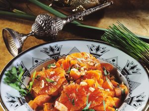 Karottensalat mit Orangen Rezept
