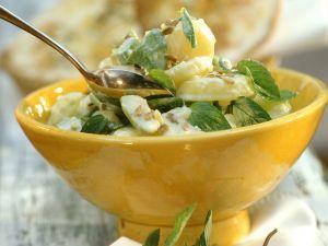 Kartoffel-Avocado-Salat mit Minze Rezept