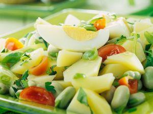 Kartoffel-Bohnen-Salat Rezept