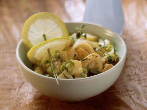 Kartoffel-Bohnen-Salat mit Calamari Rezept