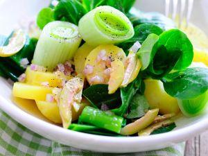 Kartoffel-Feldsalat Rezept