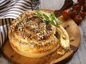 Kartoffel-Kräuter-Brot Rezept