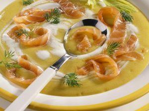 Kartoffel-Lachssuppe Rezept