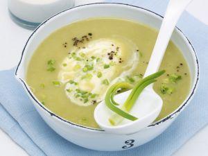 Kartoffel-Lauch-Cremesuppe Rezept