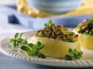 Kartoffel mit Speck-Wirsing-Füllung Rezept