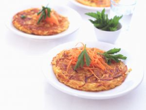 Kartoffel-Möhren-Rösti Rezept
