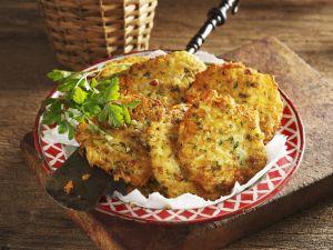 Kartoffel-Petersilienwurzel-Küchlein Rezept