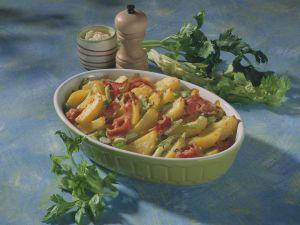 Kartoffel-Sellerie-Gratin Rezept