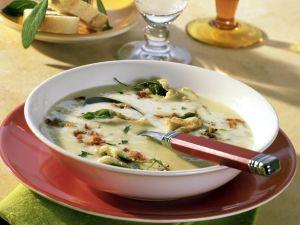 Kartoffel-Senf-Cremesuppe Rezept