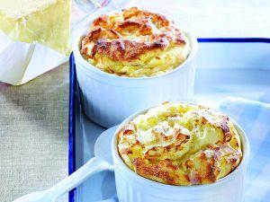 Kartoffel Soufflé mit Putenbrust Rezept