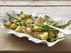 Kartoffel-Thunfisch-Salat mit grünen Bohnen Rezept