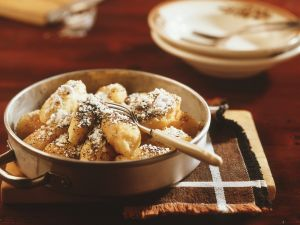 Kartoffel-Topfen-Nockerl mit Mohn Rezept
