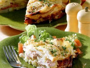Kartoffel-Wurst-Kuchen Rezept