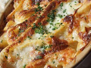 Kartoffelauflauf mit Reblochon-Käse Rezept