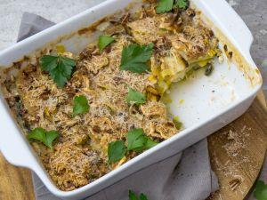 Kartoffelgratin mit Pastinaken Rezept