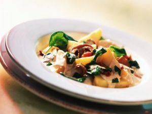 Kartoffeln mit Steinpilzsauce Rezept