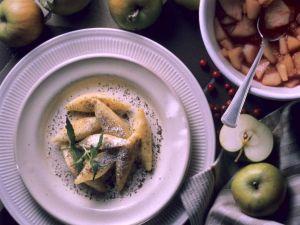 Kartoffelnudeln mit Mohn Rezept
