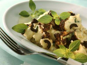 Kartoffelpüree mit Oliven Rezept