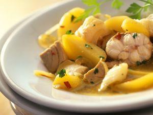 Kartoffelragout mit Fisch Rezept