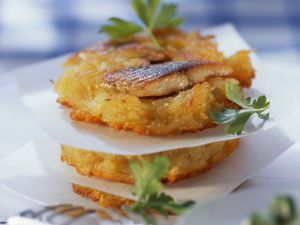 Kartoffelrösti mit Matjes Rezept