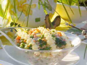 Kartoffelsalat mit Gemüse Rezept
