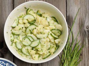 Kartoffelsalat mit Gurken Rezept