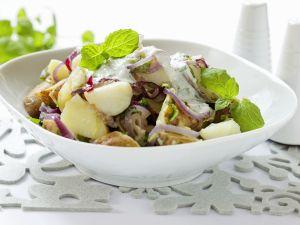 Kartoffelsalat mit Quarkdressing Rezept
