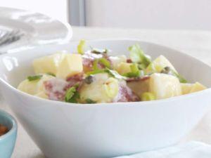 Kartoffelsalat mit Salami Rezept