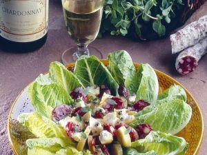 Kartoffelsalat mit Wurst und Artischocken Rezept