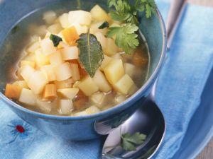 Kartoffeltopf mit Steckrüben Rezept