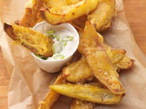 Kartoffelweges mit Käse überbacken Rezept
