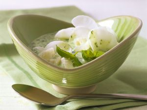 Kefirsuppe mit Rettich Rezept