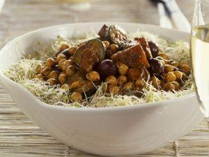 Kichererbsen-Gemüse-Salat Rezept