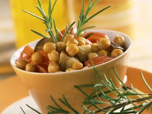 Kichererbsen-Gemüse-Topf Rezept