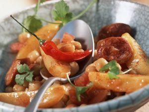 Kichererbsen-Kartoffeleintopf Rezept