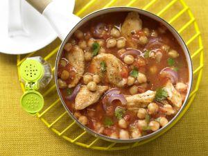 Kichererbsen-Tomaten-Ragout Rezept