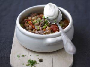 Kichererbsen-Tomaten-Topf Rezept